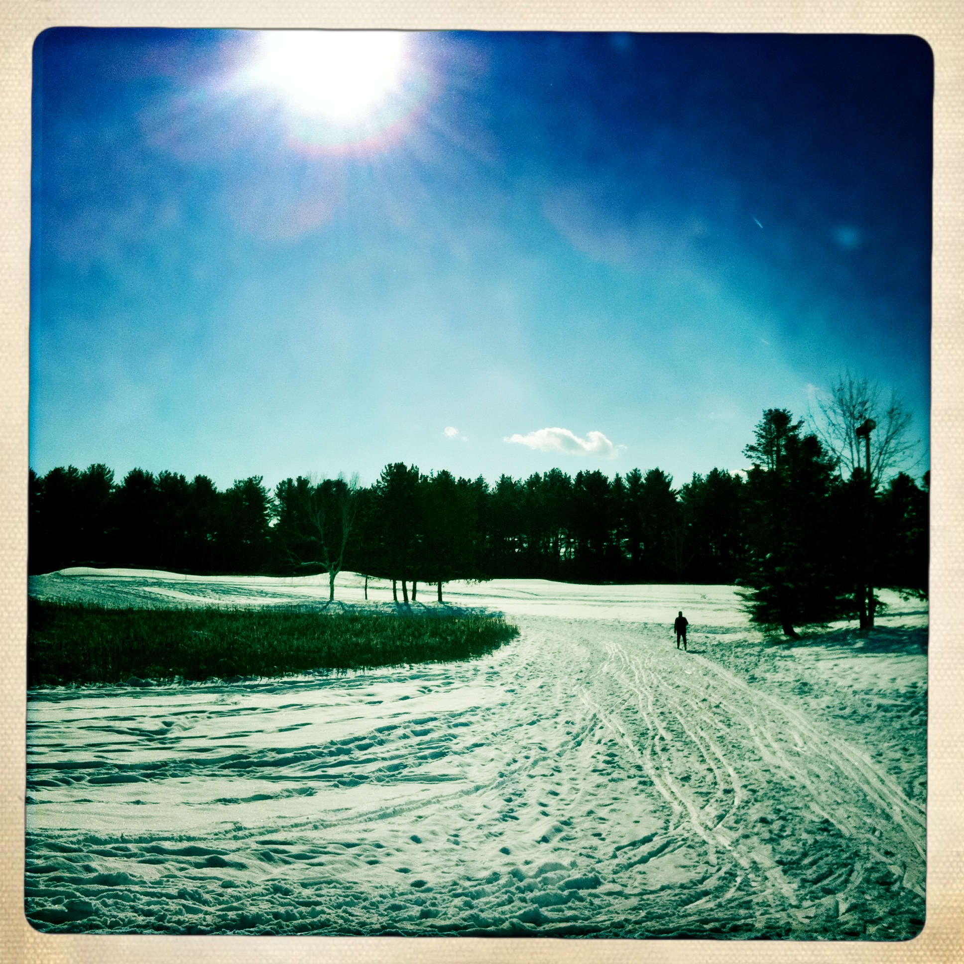 Saratoga Spa State Park Cross Country Skiing