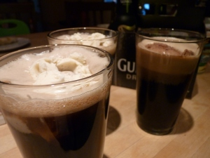 {St. Patrick's Day} in the spirit w/ guinness floats