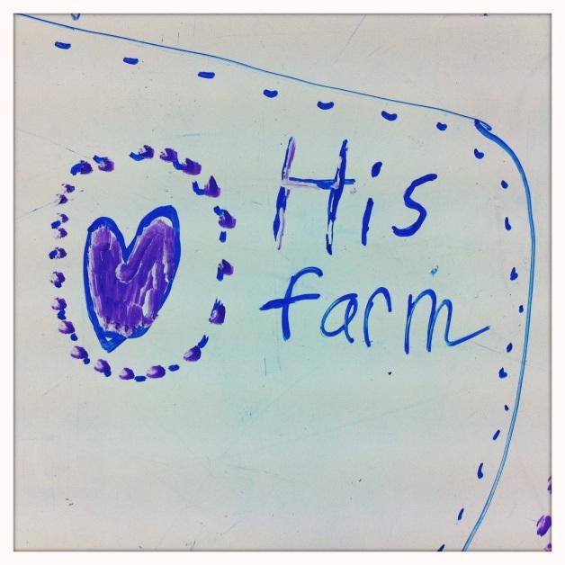 ...his farm.