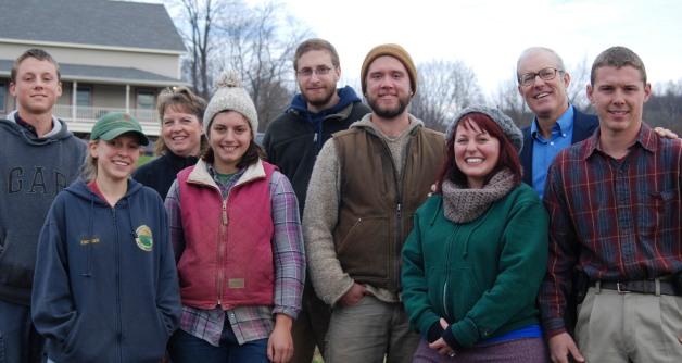 Some of the KFF Crew & Joel : Sam, Hannah, Carol Knipes, Corrie, Ian, Me, Joel & Michael