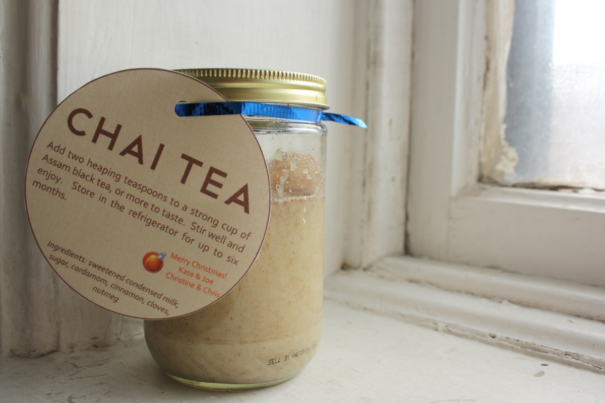 edible gift} homemade chai concentrate – from scratch club