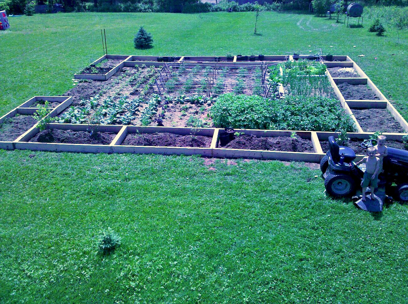 1 acre farm ideas bing images for Garden design 1 2 acre