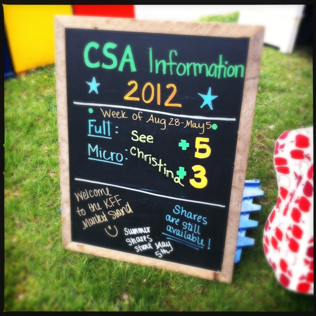 long CSA week ever!