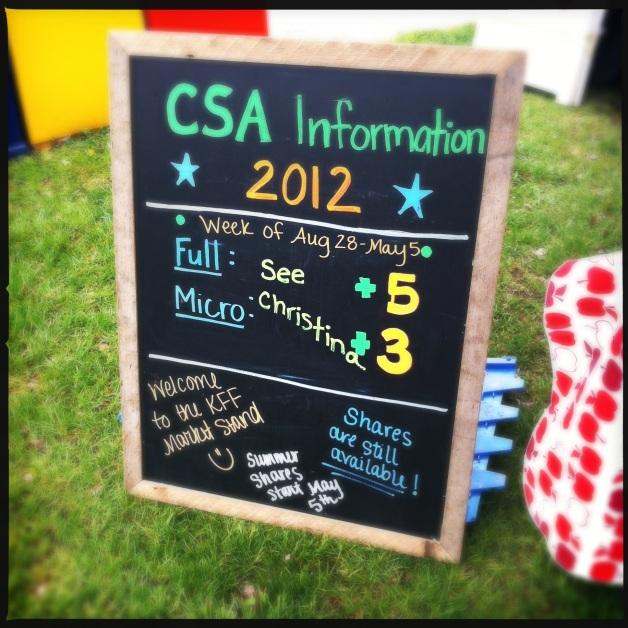 long CSA week ever!
