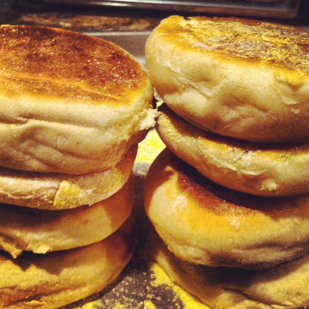 Liz's From Scratch English Muffins
