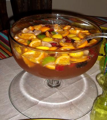 how to make sangria from scratch