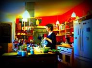 Alana in her kitchen