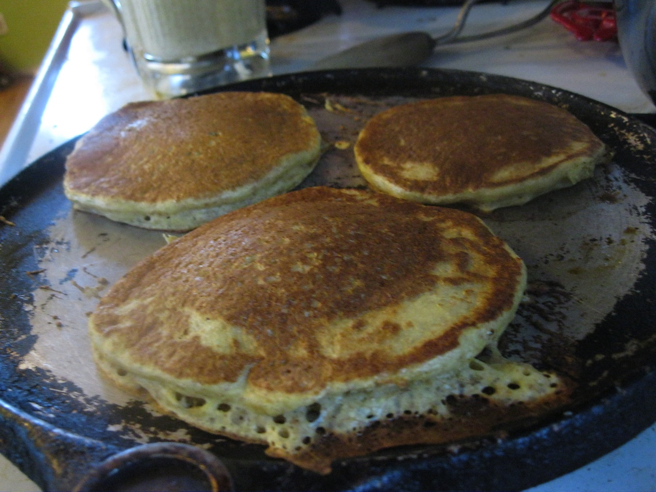 edible gift} Cornmeal Rye Pancake Mix in a Jar | FROM SCRATCH CLUB