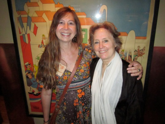 The Friendship Garden Founder, Susan Fowler, with Alice Waters