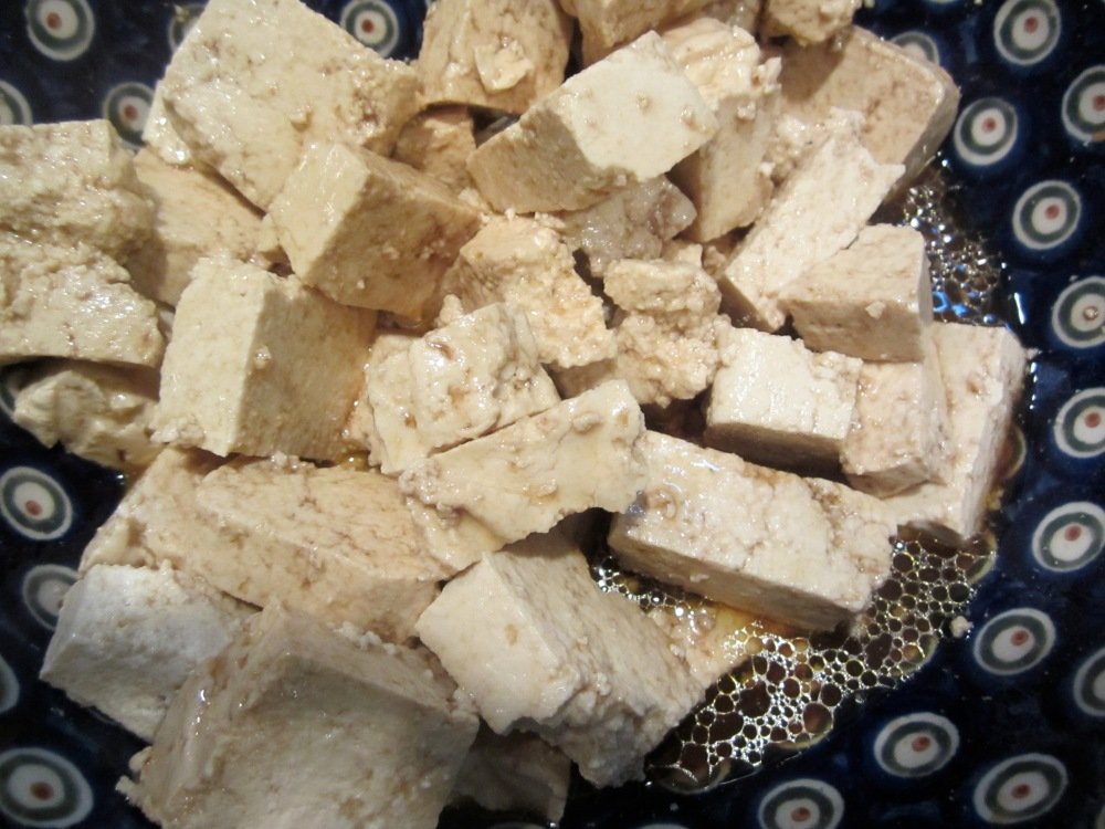 home made tofu