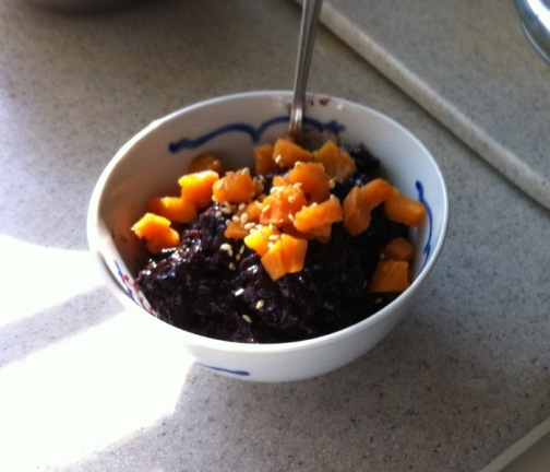 black rice pudding book club