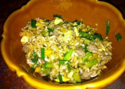 fried brown rice2 book club