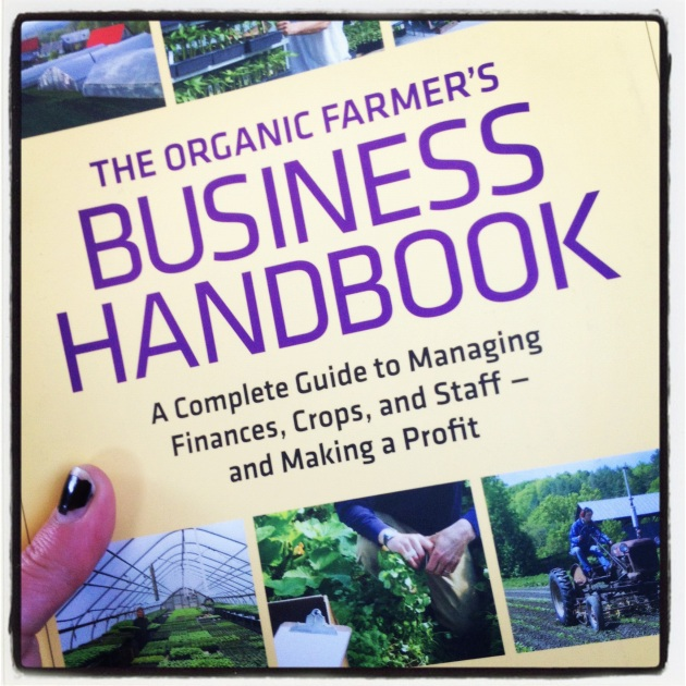 "This book is really helpful for navigating why you want to farm in the first place, and really looking at the numbers. I also recommend Joel Salatin's You Can Farm for some good inspiration and help with ""out-of-the-box"" thinking."