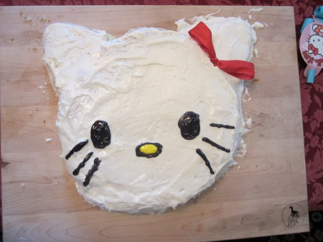 Remy's hello Kitty birthday cake