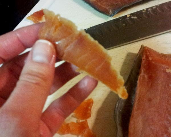 Sliced-Gravlax