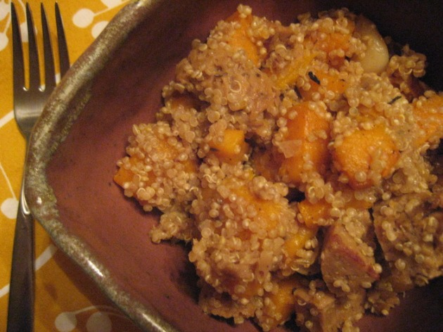 butternut quinoa meg book club