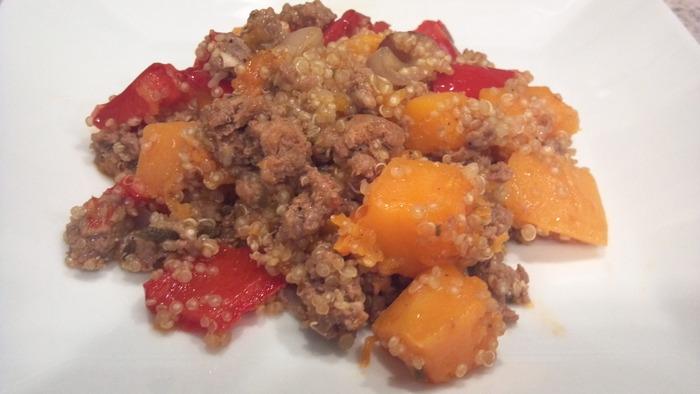 butternut squash quinoa amy book club
