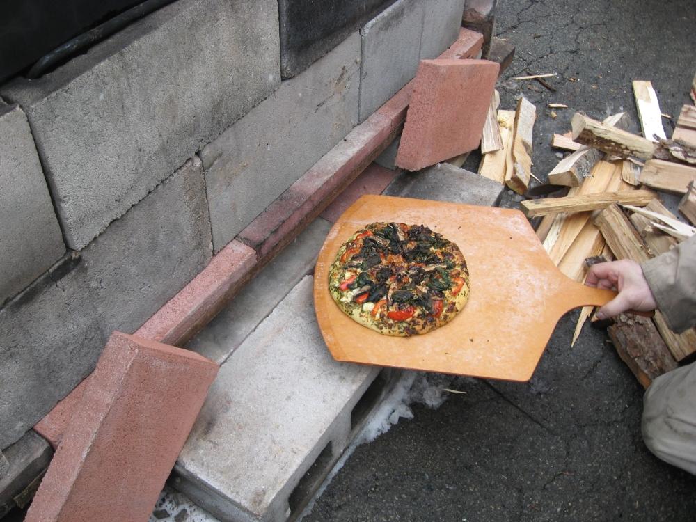 Yum, pizza!