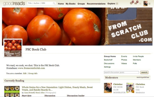 goodreads book club screenshot