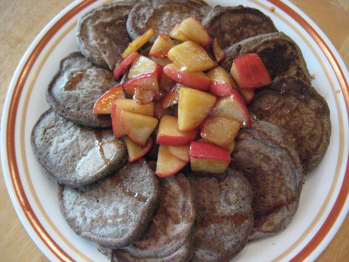 buckwheat pancakes meg book club