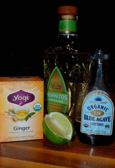 Ginger Iced Tea ingedients