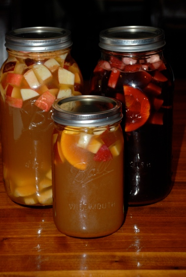 Jar of Red, White and Cider