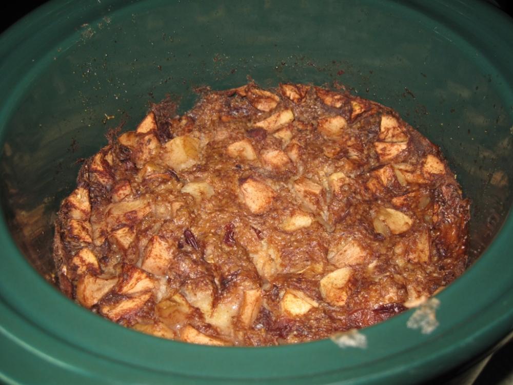 Apple Oatmeal Done!