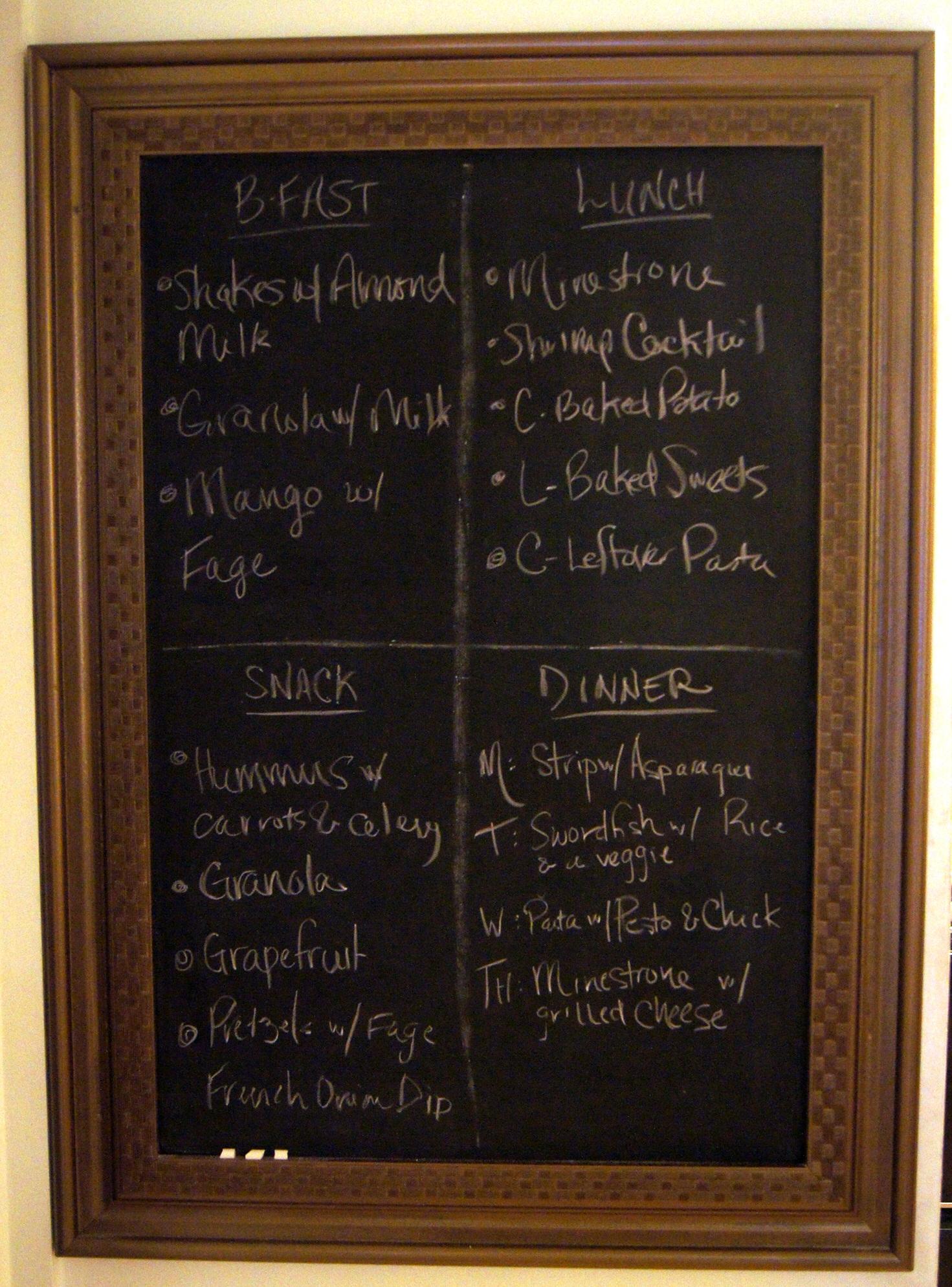 Chalkboard For Kitchen Kitchen Crafts Found Kitchen Chalkboard From Scratch Club