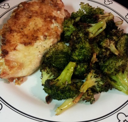 Parmesan Dijon Chicken by Ellie Krieger from Weeknight Wonders