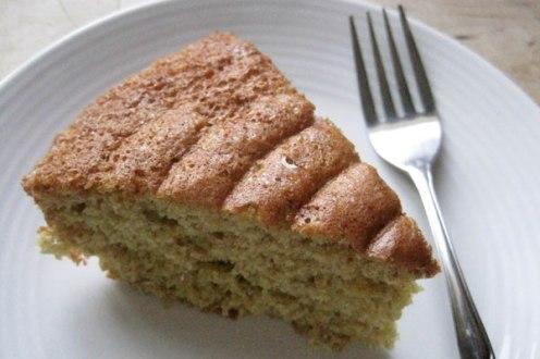 Finished Whole Wheat Sponge Cake